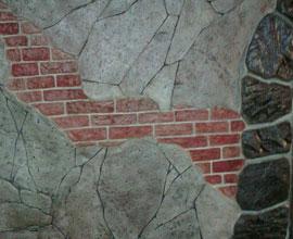 Мерилин 2009 Сливен - Изработване на щампован бетон
